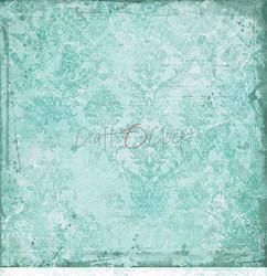 Craft O'clock skräppipaperi Turquoise Mood 01