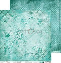 Craft O'clock skräppipaperi Turquoise Mood 06