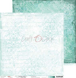 Craft O'clock paperipakkaus Turquoise Mood, 12