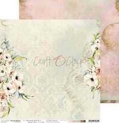 Craft O'clock skräppipaperi Blooming Retreat 01
