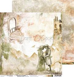 Craft O'clock skräppipaperi Bittersweet Heights 01