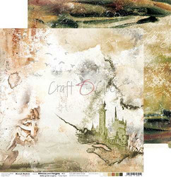 Craft O'clock skräppipaperi Bittersweet Heights 05