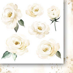 Paper Heaven paperipakkaus Golden Dreams, Flowers