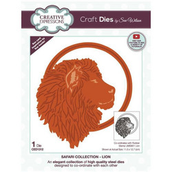 Creative Expressions stanssi Lion