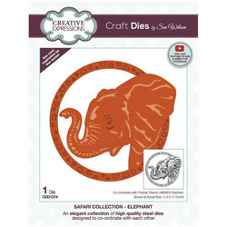 Creative Expressions stanssi Elephant