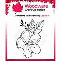 Woodware leimasin Mini Floral Wonder