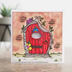 Woodware leimasin Fairy Door
