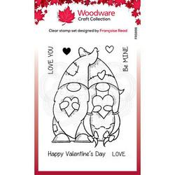 Woodware leimasin Valentine Gnome
