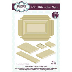 Creative Expressions stanssi Canvas Collection Rectangle