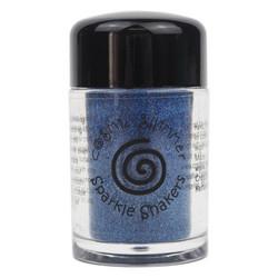 Cosmic Shimmer Sparkle Shaker -glitter, sävy Blue Silk