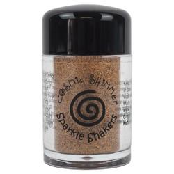 Cosmic Shimmer Sparkle Shaker -glitter, sävy Gold Flame