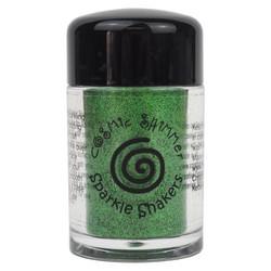 Cosmic Shimmer Sparkle Shaker -glitter, sävy Emerald Green
