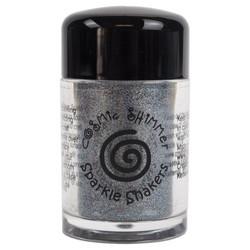 Cosmic Shimmer Sparkle Shaker -glitter, sävy Steel Sparkle