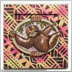 Creative Expressions sapluuna Tribal Fabric, 7
