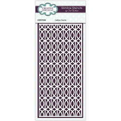 Creative Expressions sapluuna Lattice Swirls  Slimline
