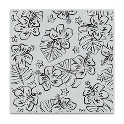 Hero Arts leimasin Hibiscus Flowers Bold Prints