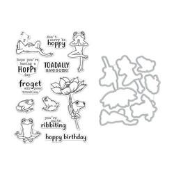 Hero Arts leimasin- ja stanssisetti Hoppy Day