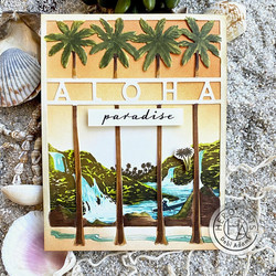 Hero Arts stanssi Aloha Cover Plate