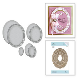 Spellbinders stanssisetti Candlewick Ovals