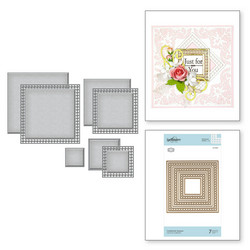 Spellbinders stanssisetti Candlewick Squares