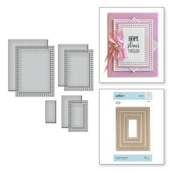 Spellbinders stanssisetti Candlewick Rectangles