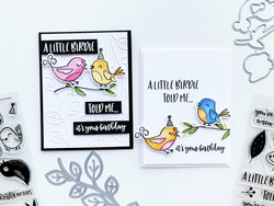Catherine Pooler leimasinsetti Lovely Birdies