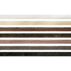 Tim Holtz Idea-Ology Velvet Trims -nauhat, Neutral