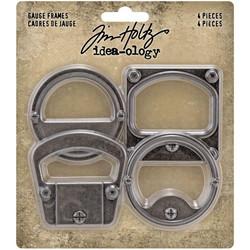 Tim Holtz Idea-Ology Metal -koristeet, Gauge Frames