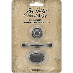 Tim Holtz Idea-Ology Metal -koristeet, Hardware Pulls