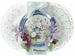 Marianne Design stanssisetti Petra's Gate Folding Floral