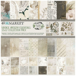 49 and Market paperipakkaus Vintage Artistry Essentials 12