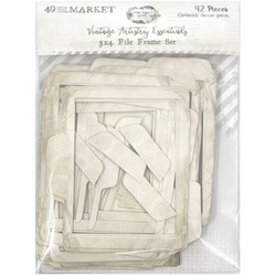 49 and Market leikekuvat Vintage Artistry Essentials File Frame, 3