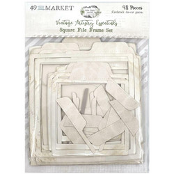 49 and Market leikekuvat Vintage Artistry Essentials File Frame, Square