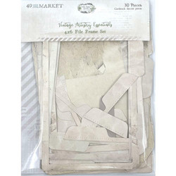 49 and Market leikekuvat Vintage Artistry Essentials File Frame, 4
