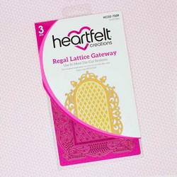 Heartfelt Creations Regal Lattice Gateway Die -stanssisetti
