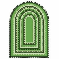 Heartfelt Creations Eyelet Frame Gateway Die -stanssisetti