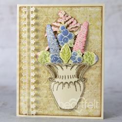Heartfelt Creations Tulip Vase & Fillers -leimasin