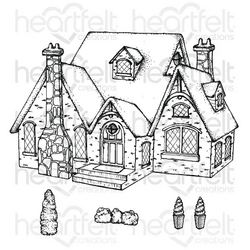 Heartfelt Creations Countryside Cottage -leimasin