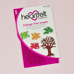 Heartfelt Creations Cottage Tree 'scapes -stanssi