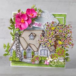 Heartfelt Creations Cottage Summer 'scapes -leimasin