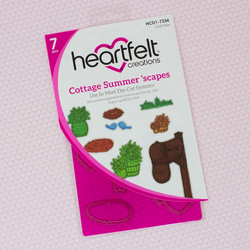Heartfelt Creations Cottage Summer 'scapes -stanssi