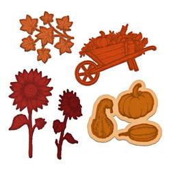 Heartfelt Creations Cottage Autumn 'scapes -stanssi
