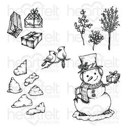 Heartfelt Creations Cottage Winter 'scapes -leimasin