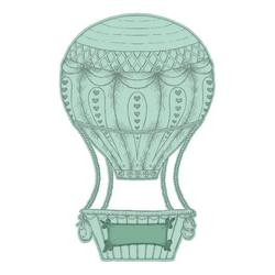 Heartfelt Creations Baby's Air Balloon -stanssi