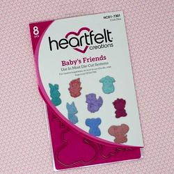 Heartfelt Creations Baby's Friends -stanssi
