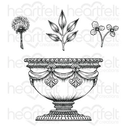 Heartfelt Creations Large Floral Urn -leimasin