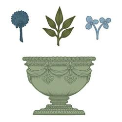 Heartfelt Creations Large Floral Urn -stanssi