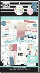 Mambi Happy Planner Value Pack -tarrapakkaus Praise The Lord