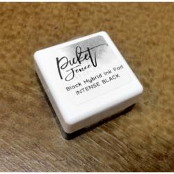 Picket Fence Black Hybrid Ink -mustetyyny, musta, pieni