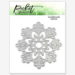 Picket Fence stanssi Snowflake Lydia